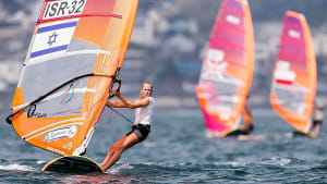 "הגולשת קטי ספיצ'קוב (יח""צ , JESUS RENEDO\SAILING ENERGY\WORLD SAILING)"