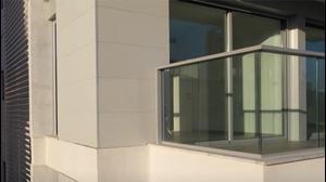 ארסטון - חיפוי חזית בניין בפייבר צמנט