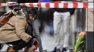 הפגנה בברלין בעקבות פיגוע הירי בעיר הנאו נגד מוסלמים, 80 בפברואר 2020