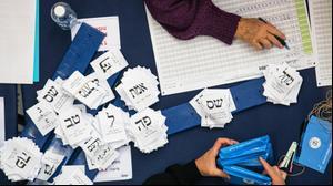 ספירת הקולות בבחירות לכנסת ה-23 ב-4 במרץ 2020
