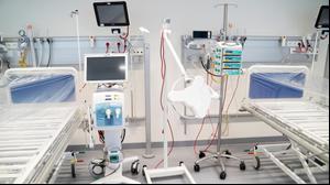 בית חולים לנפגעי קורונה בקופנהגן דנמרק, 30 במרץ 2020
