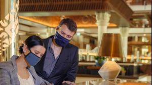 אורחים במלון בתקופת הקורונה