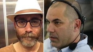 """מנכ""""ל חדשות 13, ישראל טוויטו, ועורך מהדורת השבת לשעבר של חדשות 13, ניר בכר"""