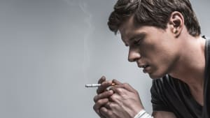 מעשן מדוכא