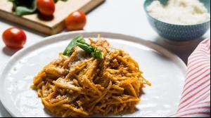 ספגטי ברוטב אדום סודי