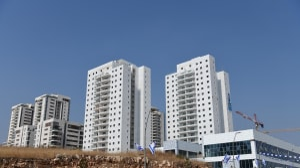 בניינים חדשים ברחוב יוסי בנאי ראש העין