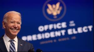 """נשיא ארה""""ב הנבחר ג'ו ביידן בנאום על המאבק בקורונה, 20 בנובמבר 2020"""