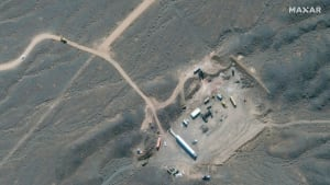 תמונת לוויין של מתקן הגרעין בנתנז, איראן, 21 באוקטובר 2020. רויטרס