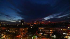 עננים בשמי תל אביב 24 בנובמבר 2020