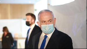 ראש הממשלה בנימין נתניהו במלון רויאל ביץ' באילת, 21 בפברואר 2021. דוד בכר, אתר רשמי
