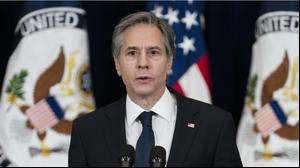 שר החוץ האמריקני אנתוני בלינקן בוושינגטון, 4 בפברואר 2021. רויטרס