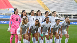 נבחרת ישראל כדורגל נשים תמונה קבוצתית. Claudio Villa, GettyImages