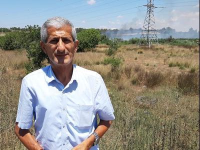Eyal Hajabi, porte du Néguev, 10 août 2020