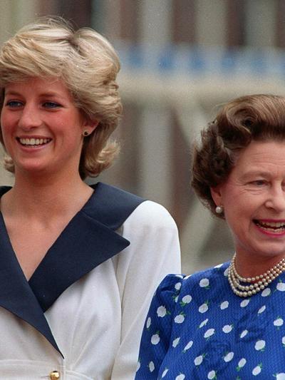 מגזין הורות כלה חמות המלכה אליזבת הנסיכה דיאנה אוגוסט 1987