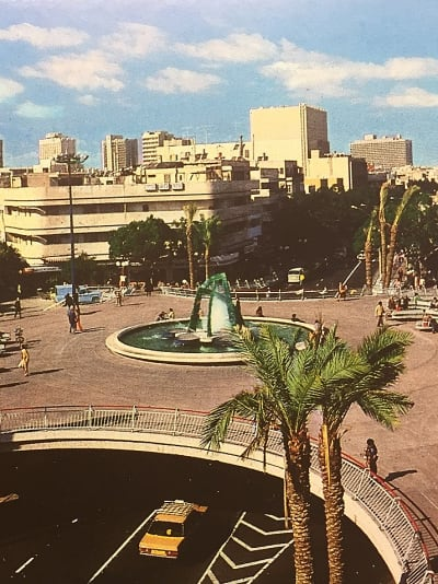כיכר צינה דיזנגוף מתוך התערוכה באדיבות מרכז באוהאוס