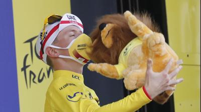טאדיי פוגצ'אר רוכב אופניים סלובני, מנצח טור דה פראנס 2020