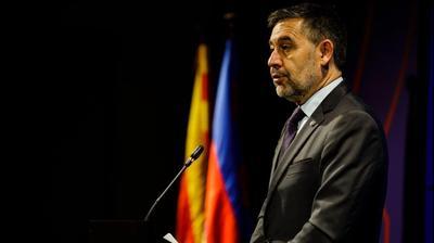 נשיא ברצלונה ג'וזפ מריה ברתומאו