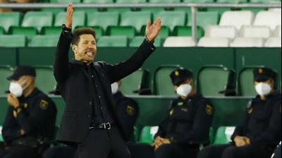 מאמן אתלטיקו מדריד דייגו סימאונה. רויטרס