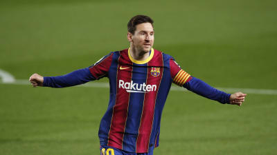 ליאונל מסי שחקן ברצלונה. רויטרס