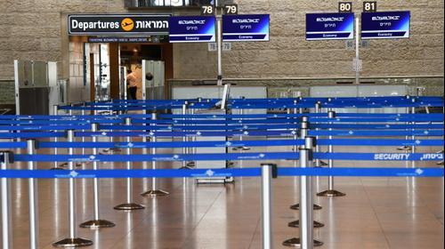 שדה התעופה בן גוריון 10 במרץ 2020. ראובן קסטרו