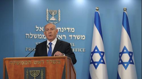 ראש הממשלה, בנימין נתניהו מתייחס במהלך נאומו לההסכם ההסיטורי עם איחוד האמירויות 13 באוגוסט 2020