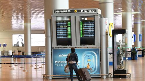 נמל התעופה בן גוריון 18 באוגוסט 2020. ראובן קסטרו
