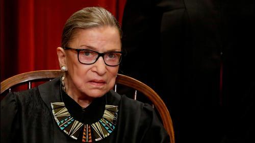 שופטת בית המשפט העליון בארצות הברית, רות ביידר גינזבורג, שהלכה לעולמה בגיל 87 לאחר מאבק ממושך בסרטן. 19 בספטמבר 2020