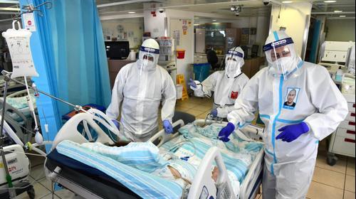 מחלקת קורנה בית חולים רמבם חיפה, 23 בספטמבר 2020 קורונה. ראובן קסטרו