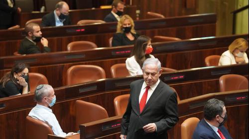 25 שנה לרצח יצחק רבין,ראש הממשלה בנימין נתניהו מליאת כנסת, כנסת ישראל, 29 באוקטובר 2020