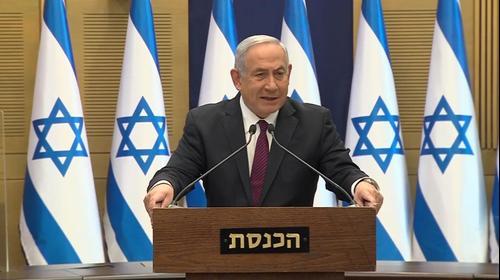 בדרך לבחירות | ראש הממשלה, בנימין נתניהו במהלך הצהרה לתקשורת בכנסת 2 בדצמבר 2020