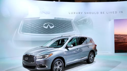 Infiniti QX60. Scott Olson, GettyImages