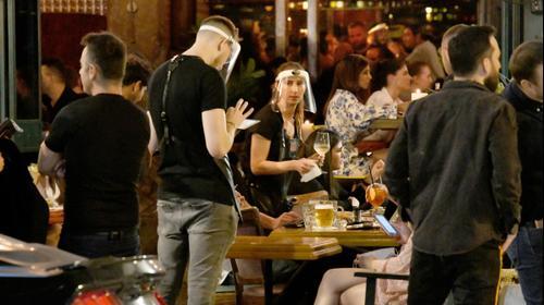 פתיחת מסעדות בתל אביב, דצמבר 2020. ראובן קסטרו