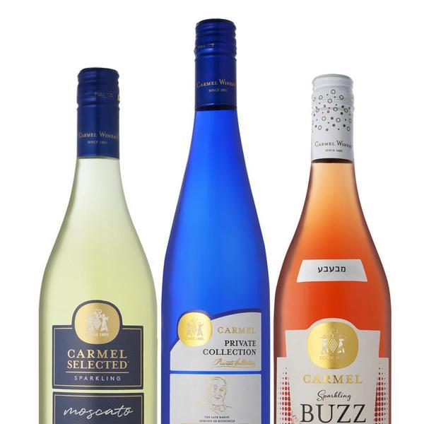 יינות מבעבעים של יקבי כרמל. אייל קרן,