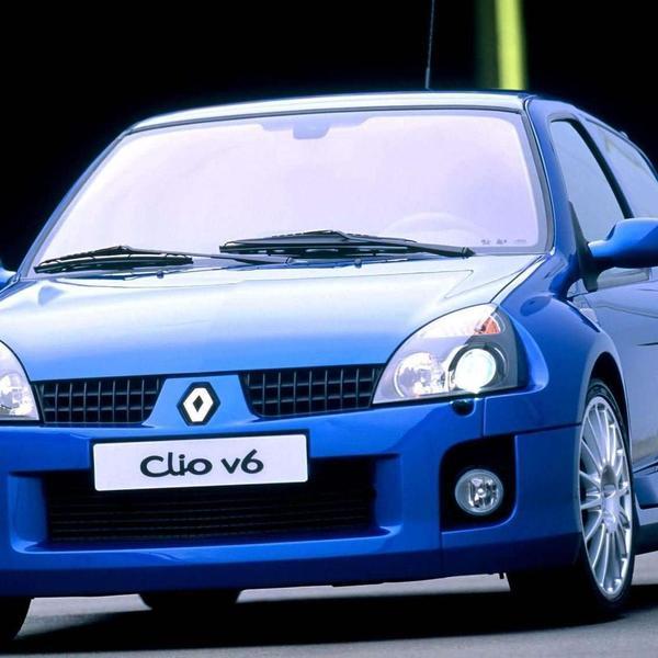 רנו קליאו V6. אתר יצרן