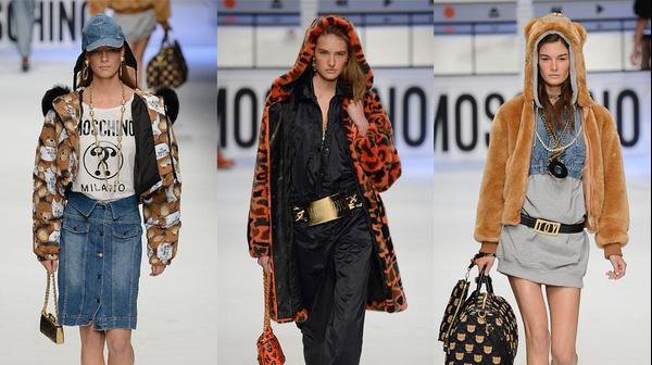 מוסקינו שבוע האופנה במילאנו סתיו-חורף 2015-16
