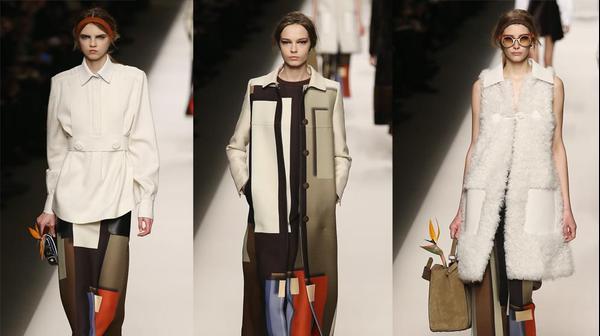 פנדי שבוע האופנה במילאנו סתיו-חורף 2015-16