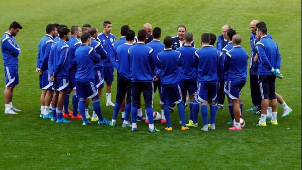 נבחרת ישראל בכדורגל לפני המשחק מול ויילס