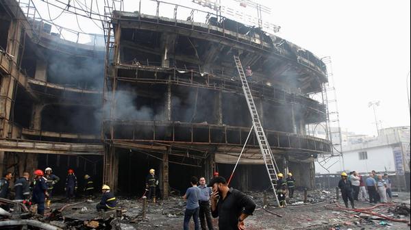 פיצוץ מכונית תופת ברובע אל-כראדה, בגדאד, 3 ביולי 2016