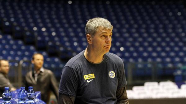 מאמן מכבי תל אביב איינארס בגאצקיס