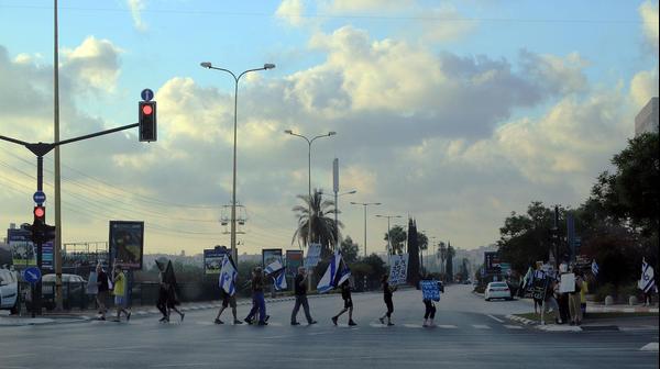 """Митинг движения """"Время перемен"""" в Тель-Авиве"""