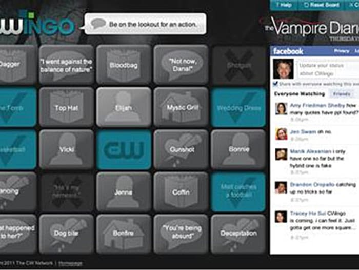 Watch and win: The CW launches 'CWingo' game (צילום מסך)