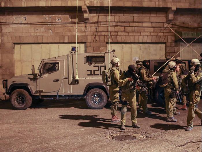 לאחר פיגוע הירי בעיר חברון (נועם מושקוביץ)