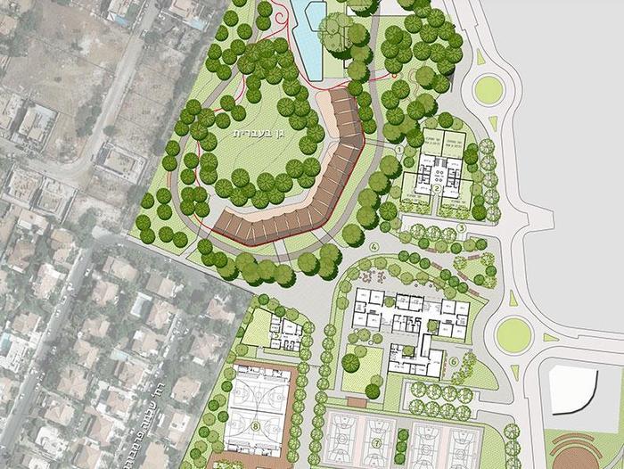 סופר אלפי דירות ושטחי מסחר: כך תיראה השכונה החדשה בצריפין - וואלה! חדשות BR-76