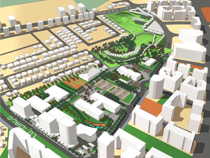מדהים אלפי דירות ושטחי מסחר: כך תיראה השכונה החדשה בצריפין - וואלה! חדשות XN-83