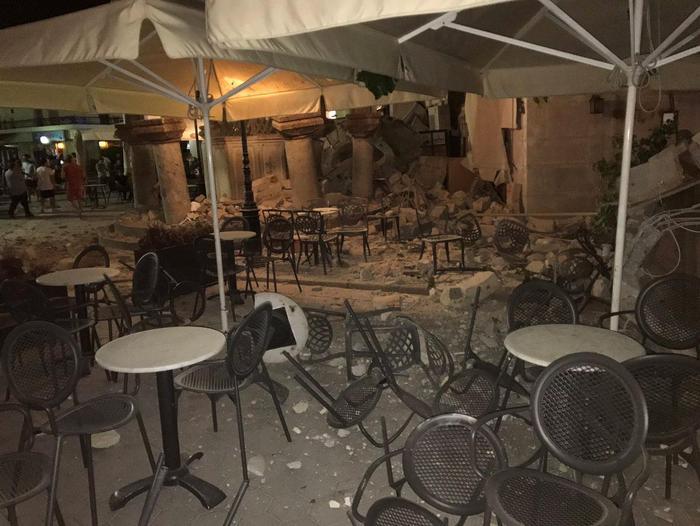 """רעידת אדמה בישראל: רעידת אדמה בקוס: """"יש הרבה ישראלים"""