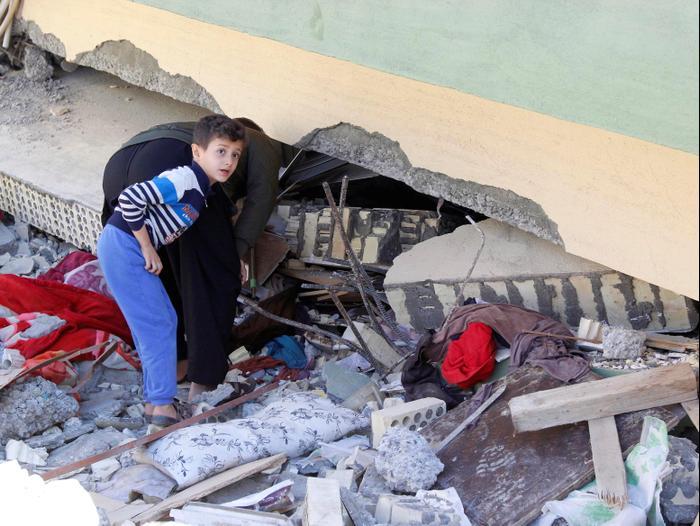 רעידת אדמה בעיראק 13 בנובמבר 2017 (רויטרס)