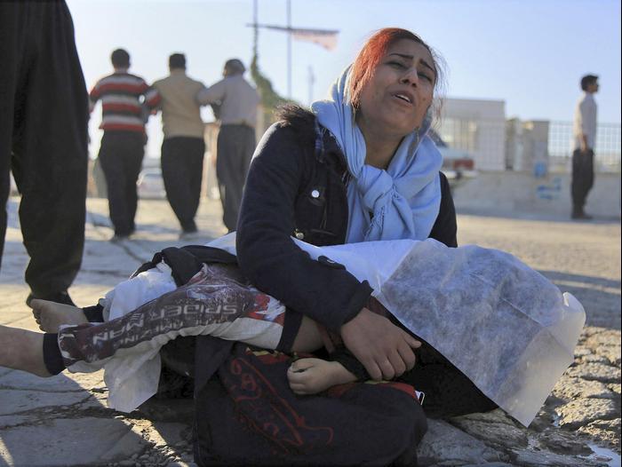רעידת אדמה באיראן 13 בנובמבר 2017 (AP)