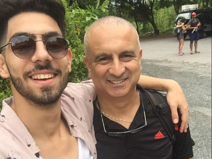 עמית בן יגאל, נהרג בפעילות בכפר יעבד, עם אביו ברוך (אתר רשמי , פייסבוק)