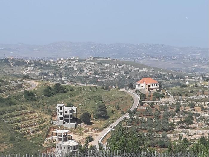 Les villages de Kila et Al Adisa, sud du Liban, 21 mai 2020 (Amir Buhbut)