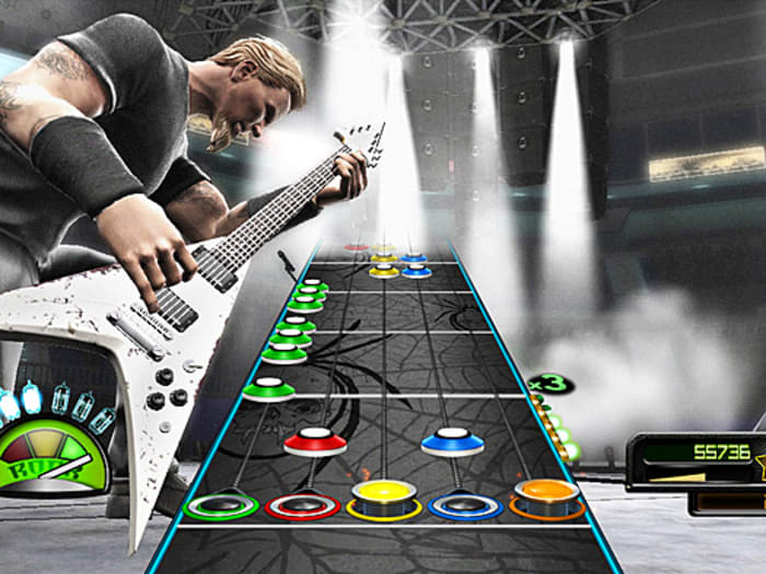 Guitar Hero Metallica (דניס ויטצ'בסקי)